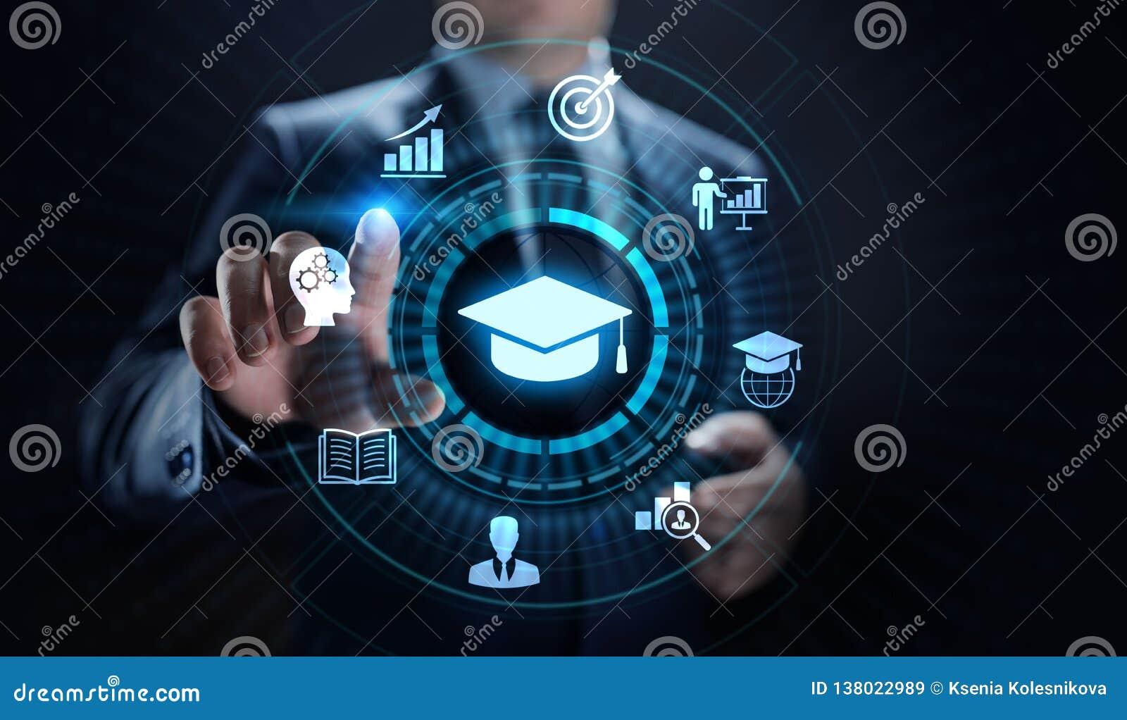 Desenvolvimento pessoal do negócio do conhecimento do seminário de Webinar do treinamento em linha do ensino eletrónico da tecnol