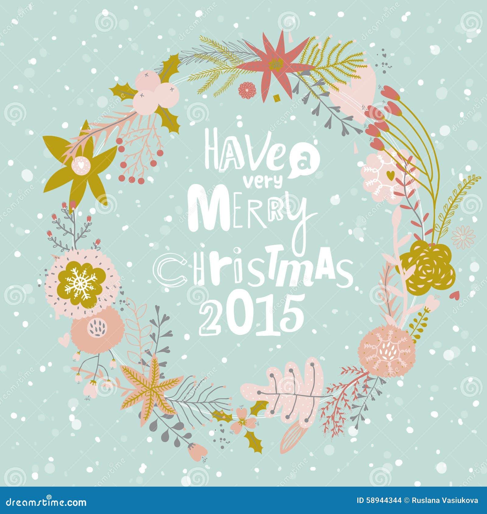 Deseos de la navidad y elementos caligr ficos del invierno - Deseos para la navidad ...