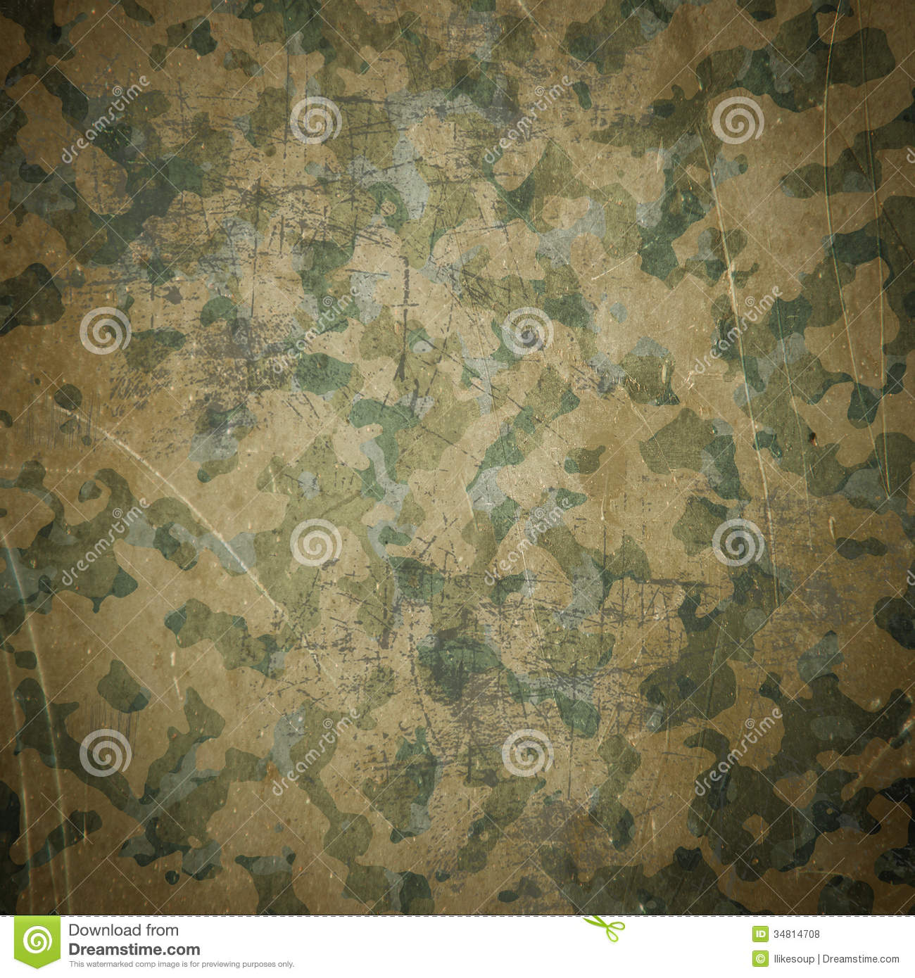 Desert Army Camouflage Background Stock Illustration ...