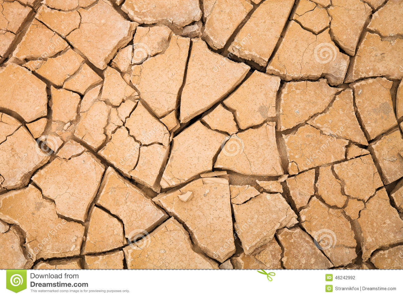 desert with cracked ground background texture stock