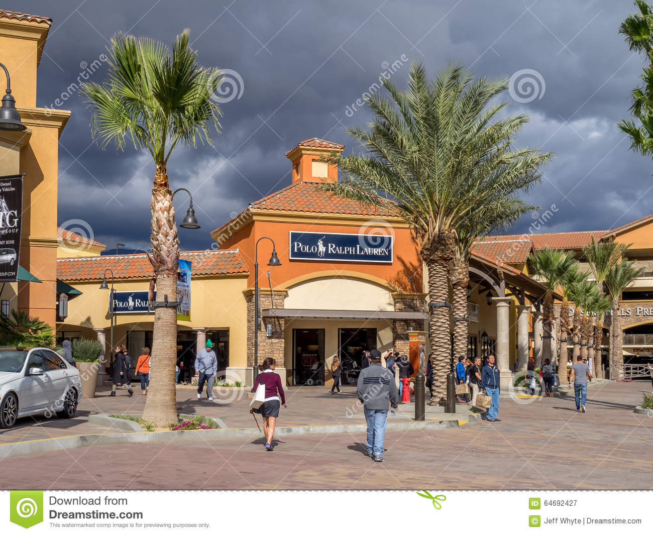 Desert Hills Premium Outlet Mall Editorial Photography Image Of