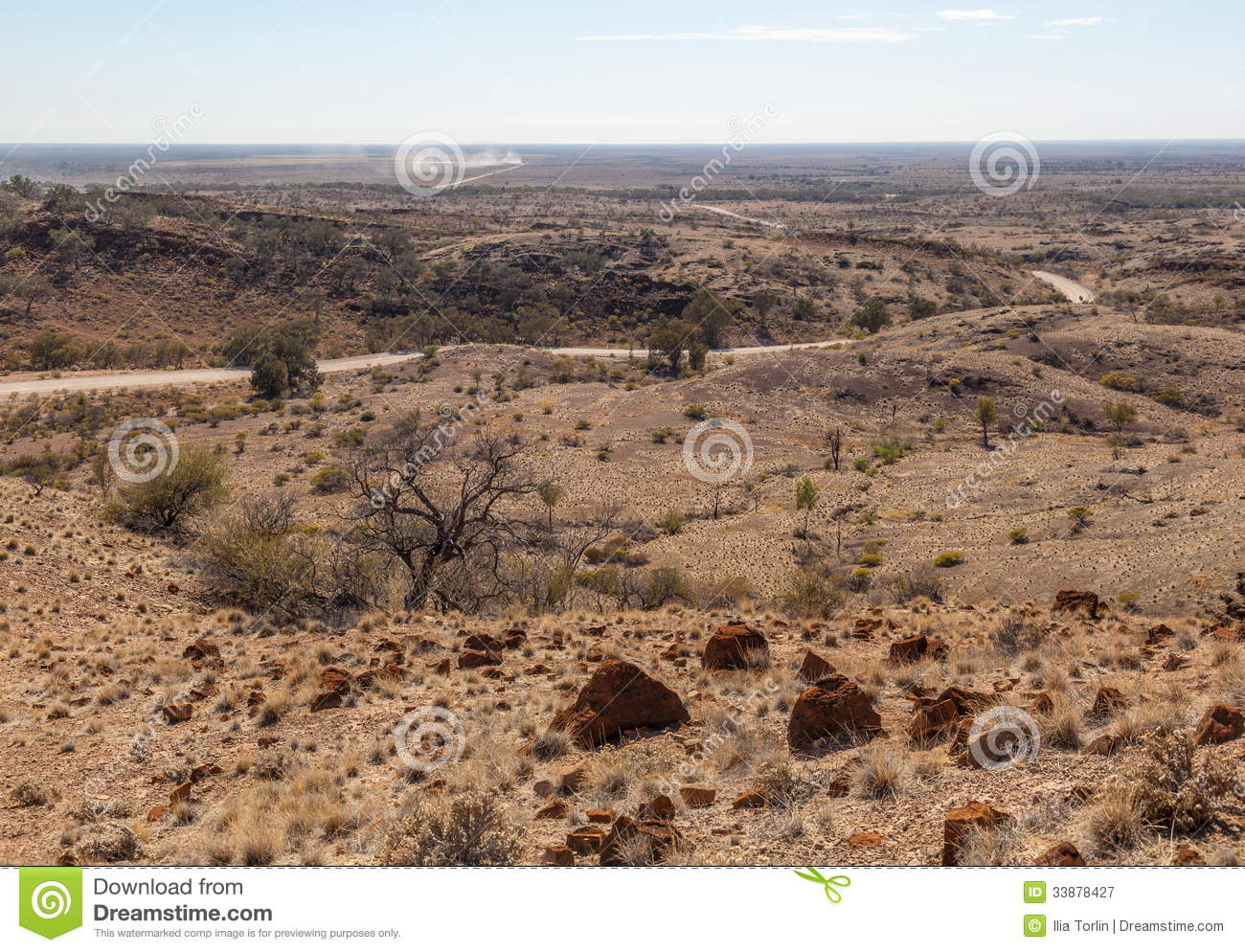 Desert landscape flinders ranges south australia royalty for South australia landscape