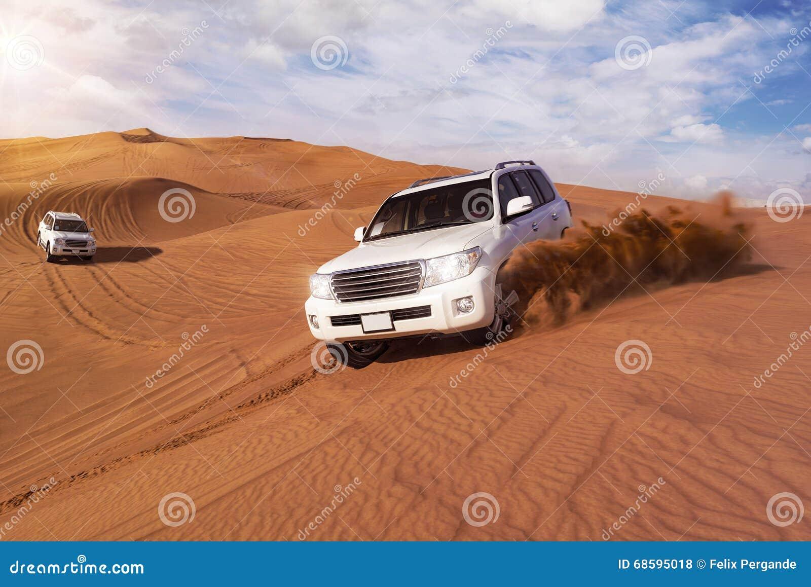 Desert Safari with SUVs