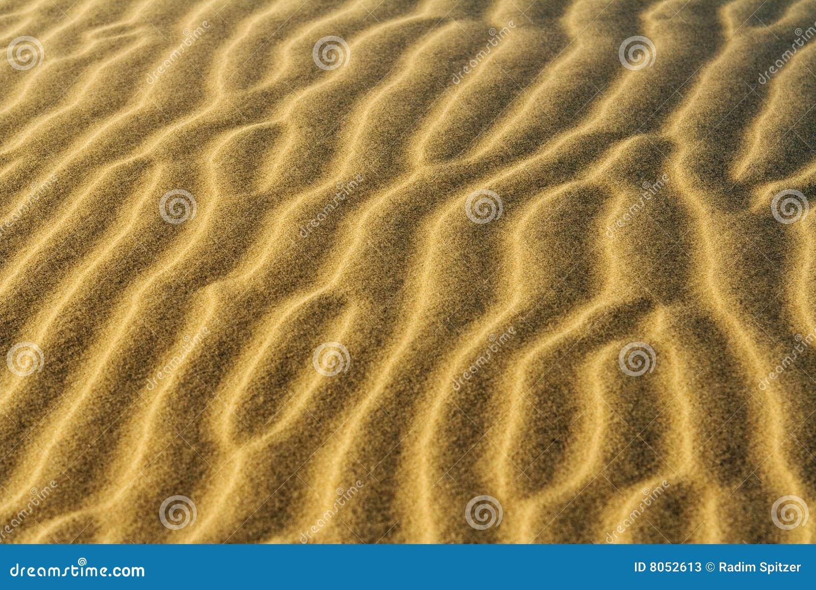 Desert sand pattern