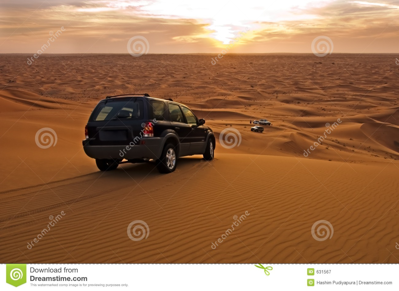 Desert Suv Royalty Free Stock Photography Image