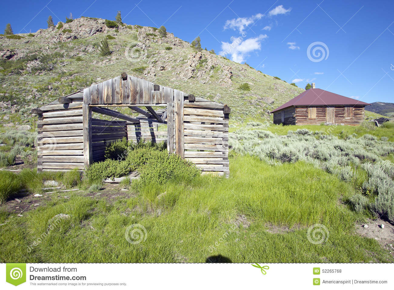 Deserted old prairie log cabin in centennial valley near for Lakeview cabin download