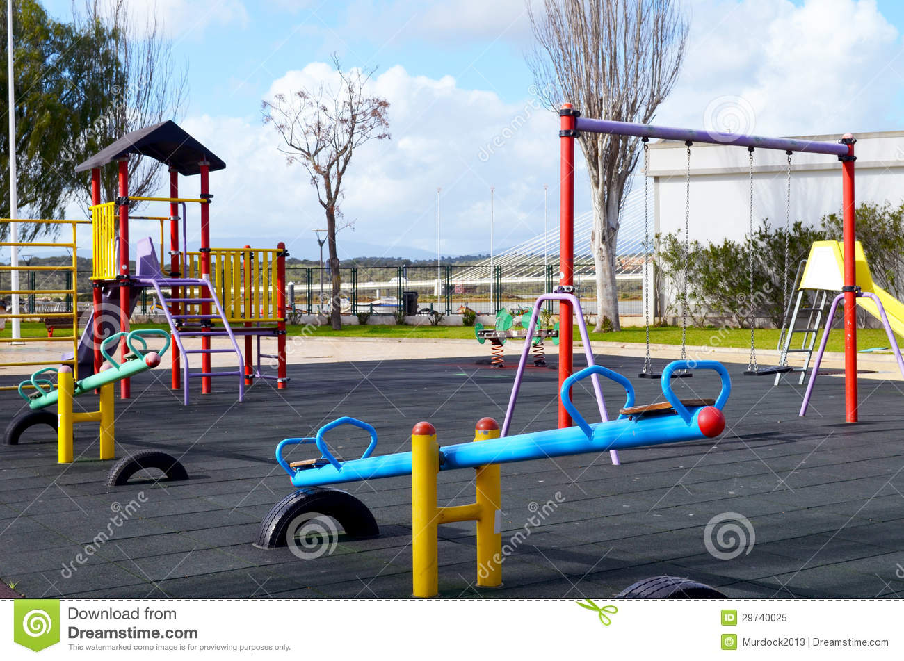 Empty Playground Royalty Free Stock Photo - Image: 29740025