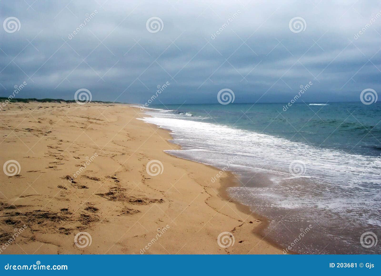 Deserterad strand