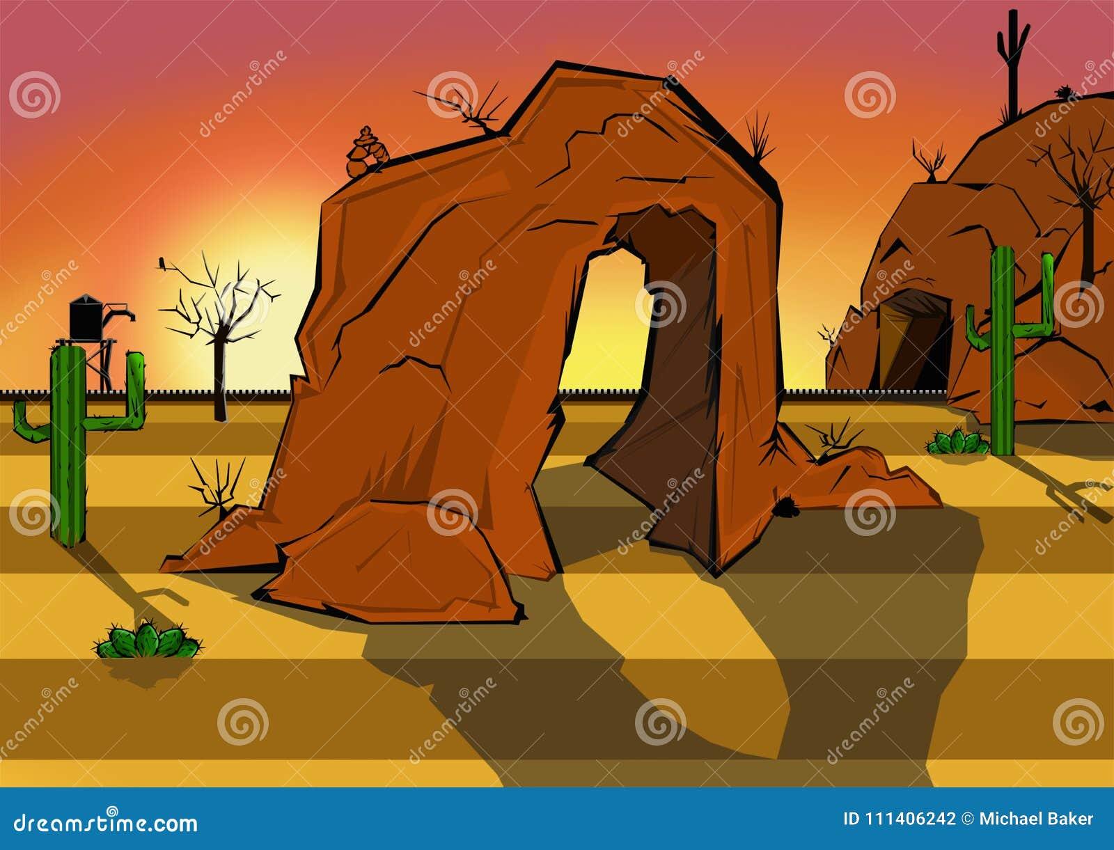 Deserto animato Scape