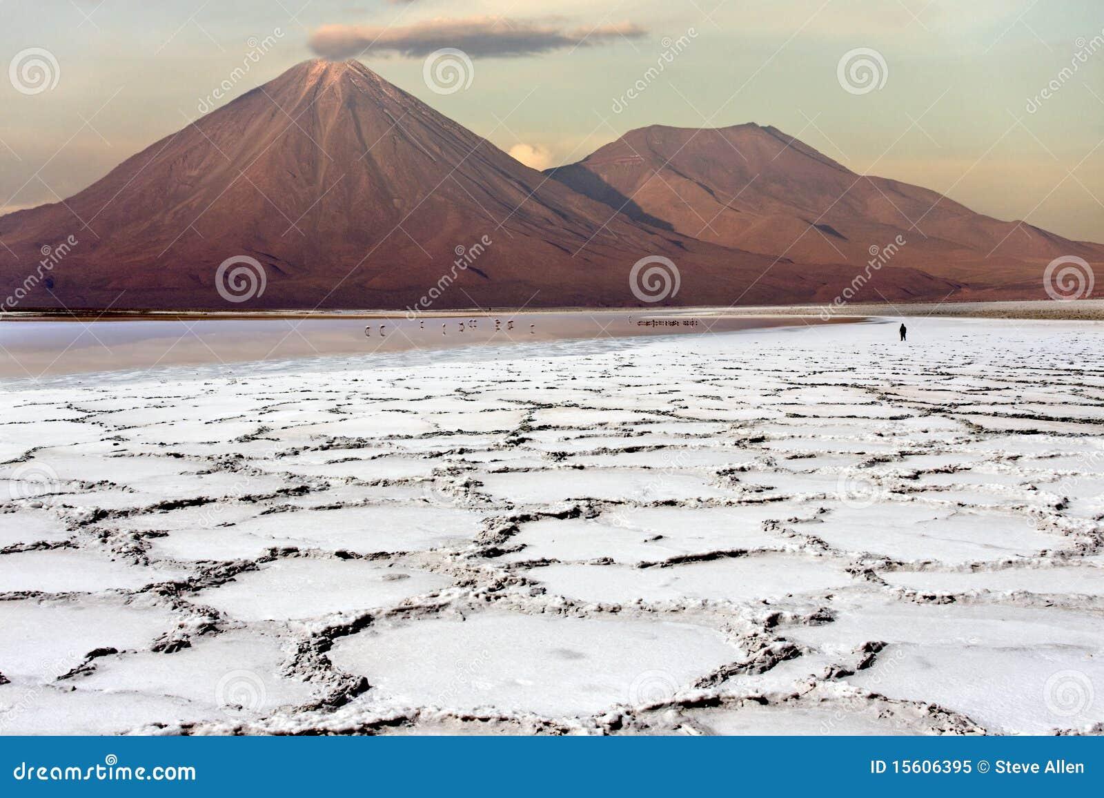 Deserto de Atacama no Chile