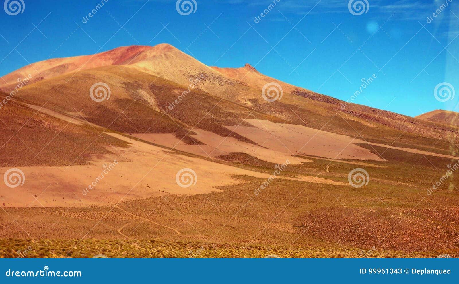 Deserto de Dali em Altiplano Bolívia, Ámérica do Sul