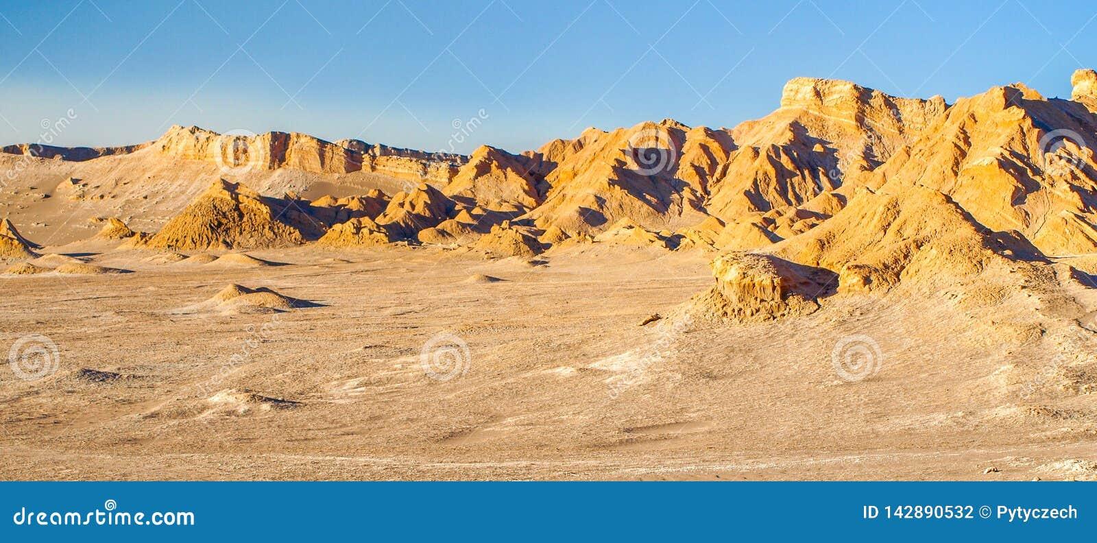 Deserto do Vale da Morte od Atacama perto de San Pedro de Atacama, o Chile