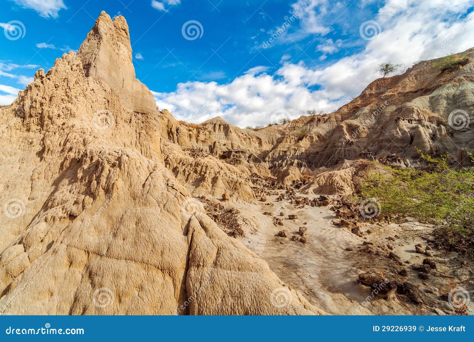 Download Deserto e céu azul imagem de stock. Imagem de scenic - 29226939