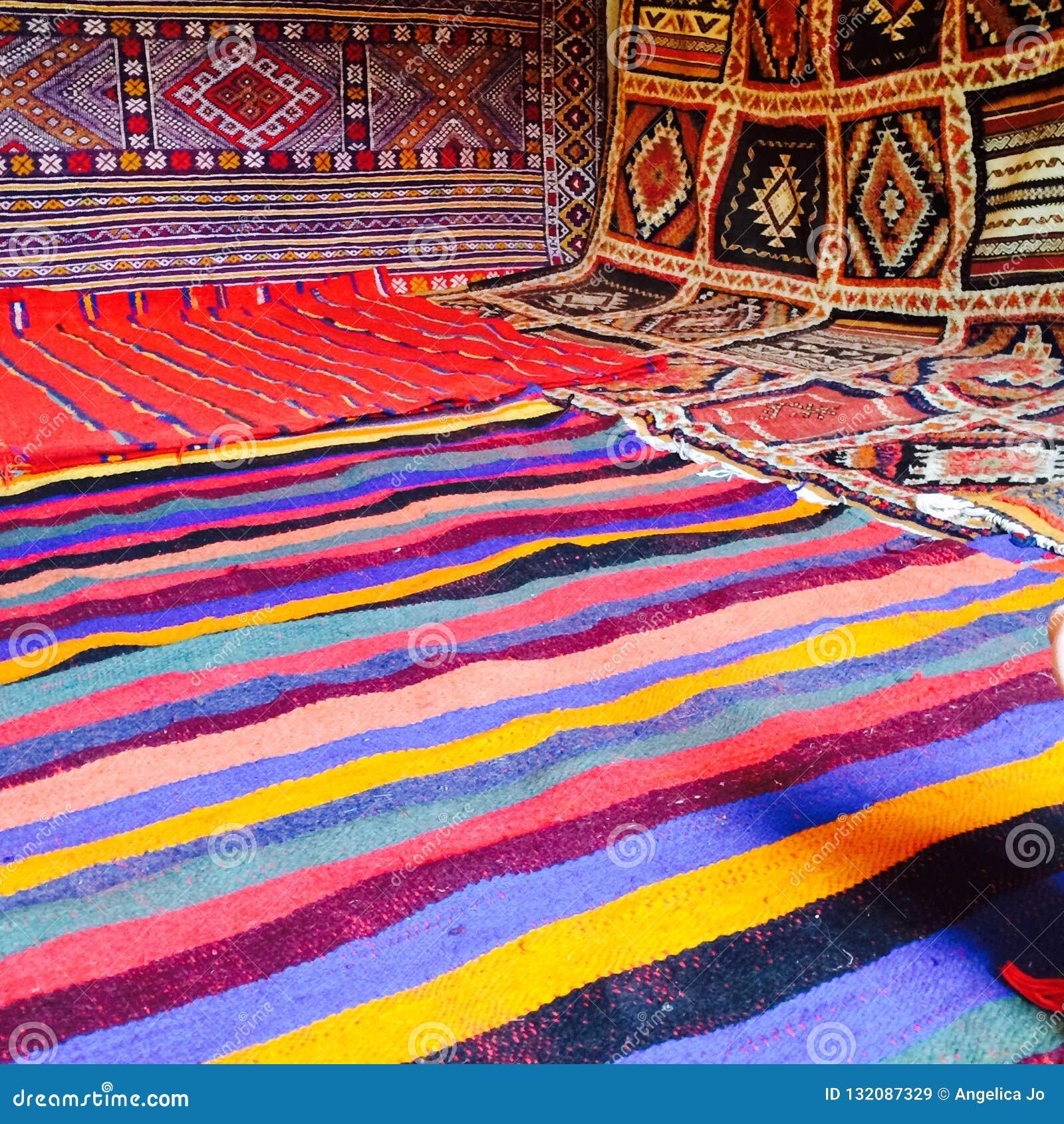 Deserto fatto a mano Sahara dell atlante di colori marocchini dei tappeti