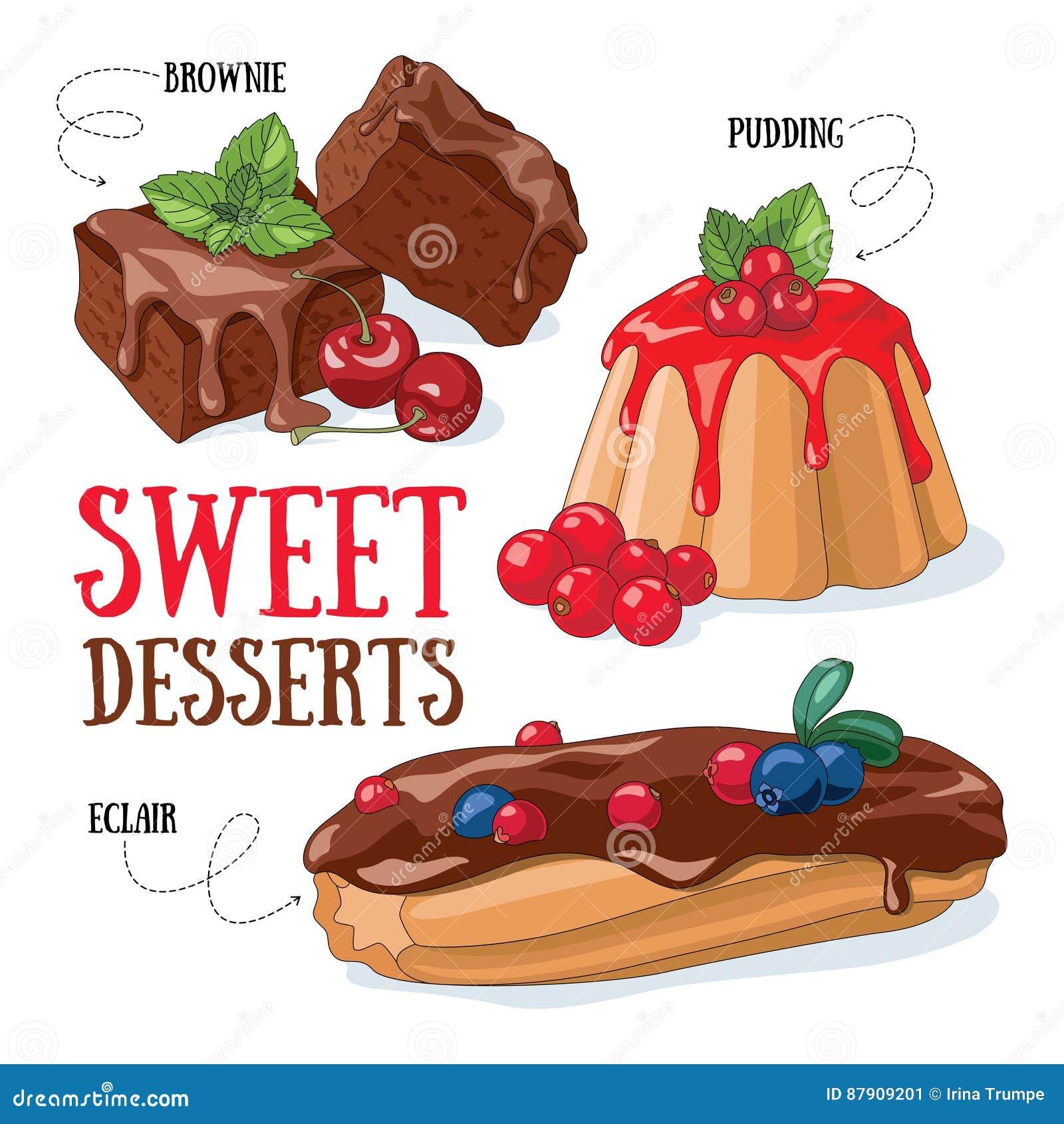 Desery słodcy