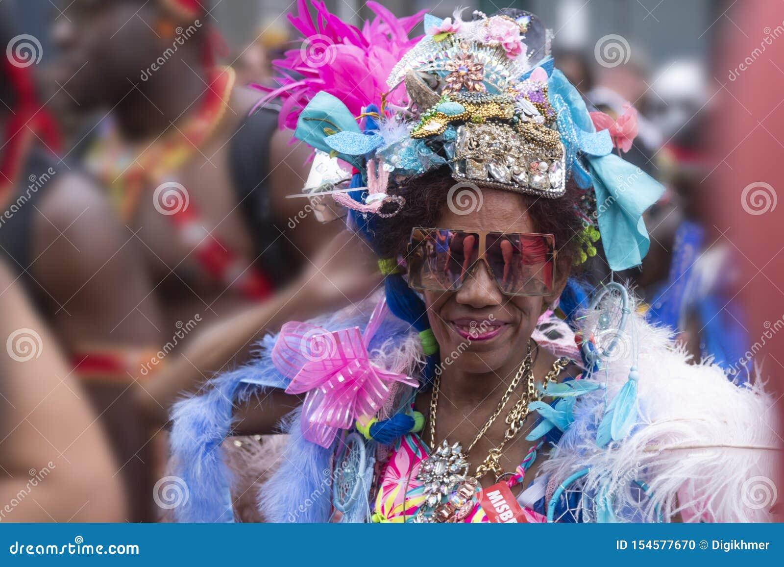 Desfile carnaval 2019 del verano de Rotterdam