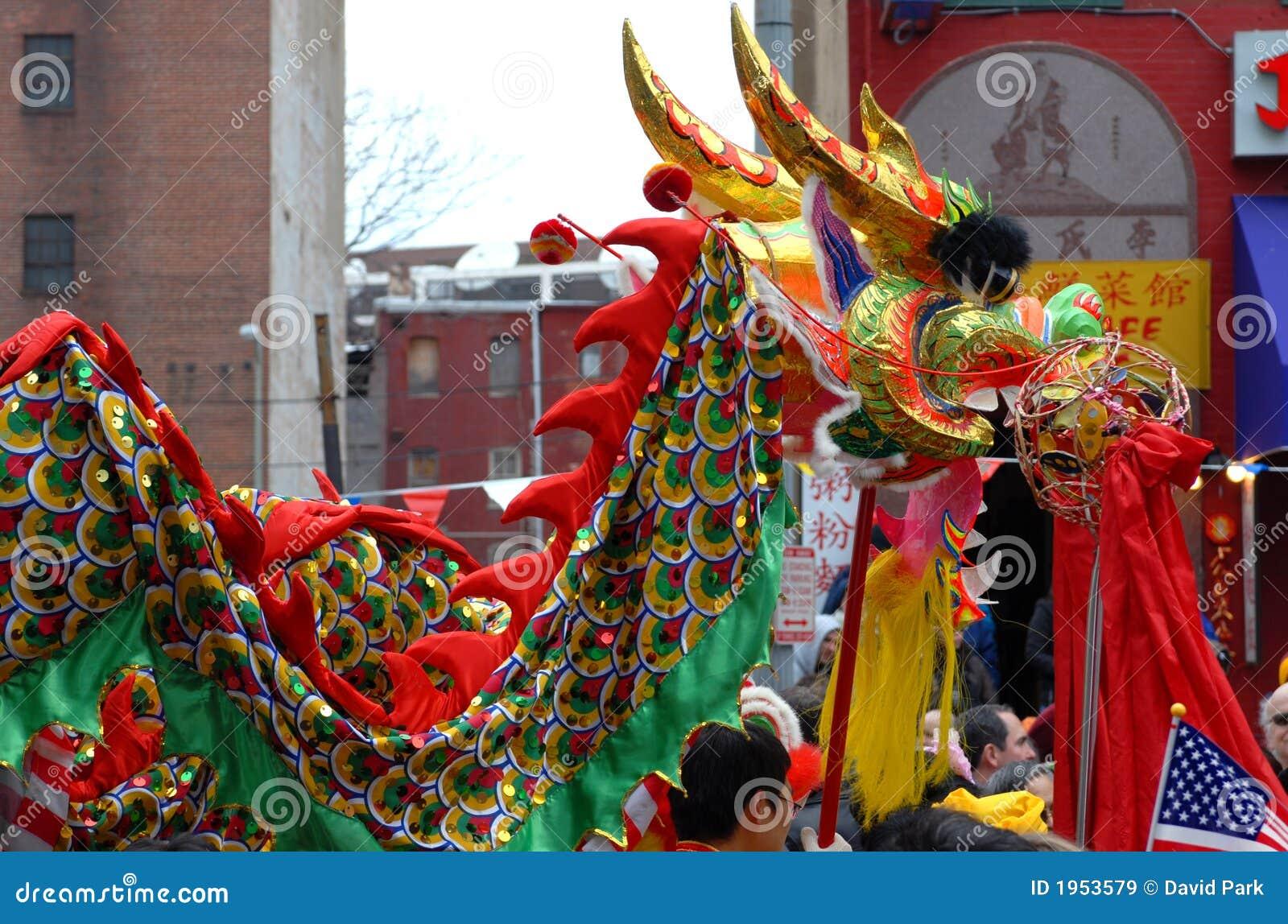 Desfile chino del Año Nuevo
