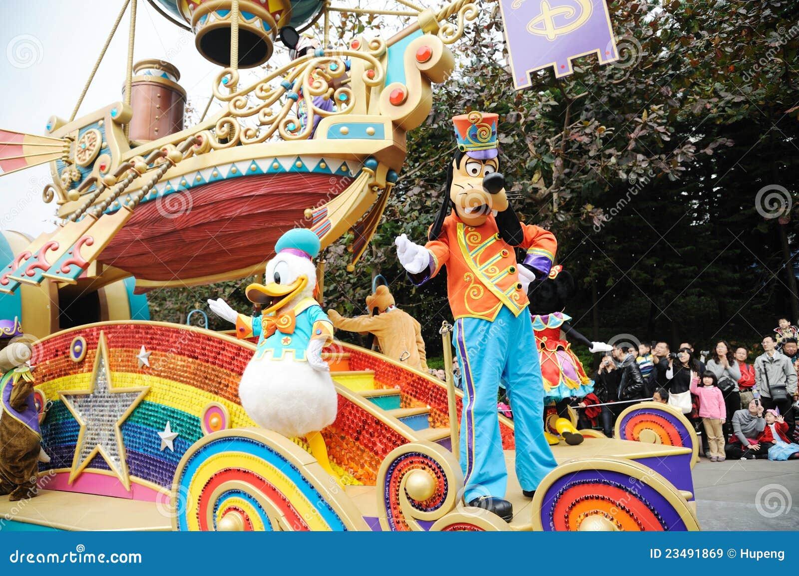 Desfile de Disney en Hong-Kong