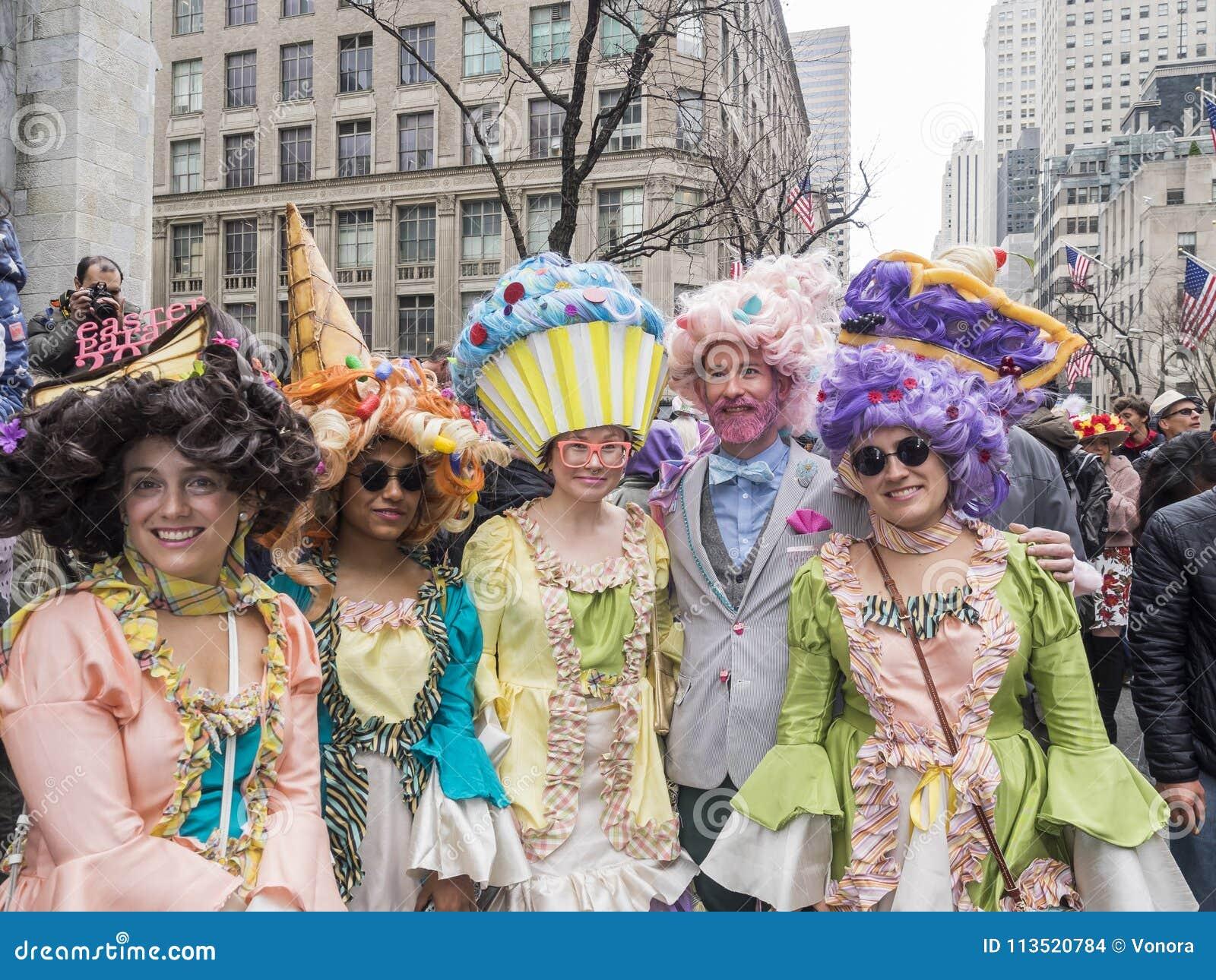Desfile de Pascua y festival 2018 del capo