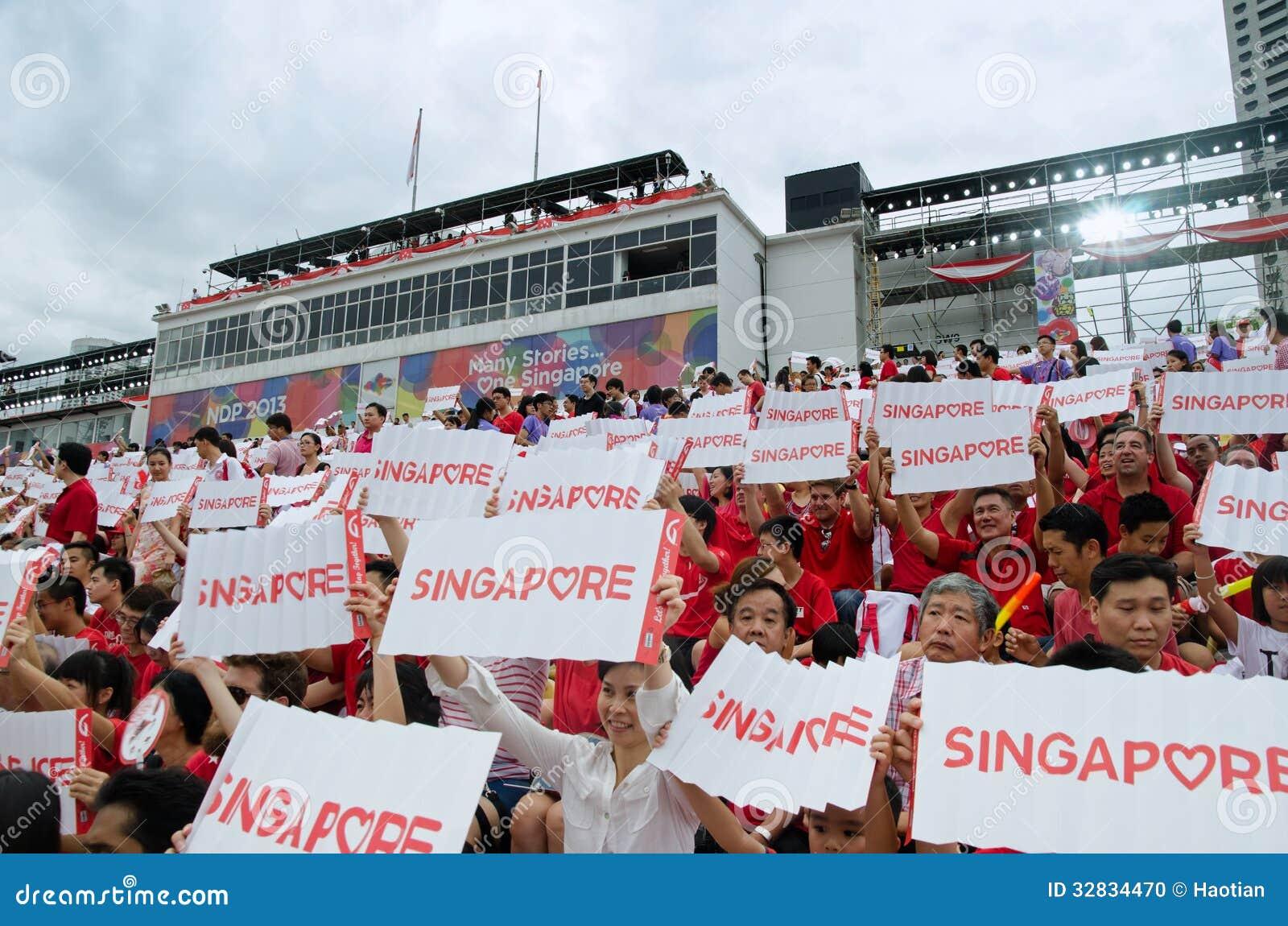 Desfile 2013 del día nacional de Singapur