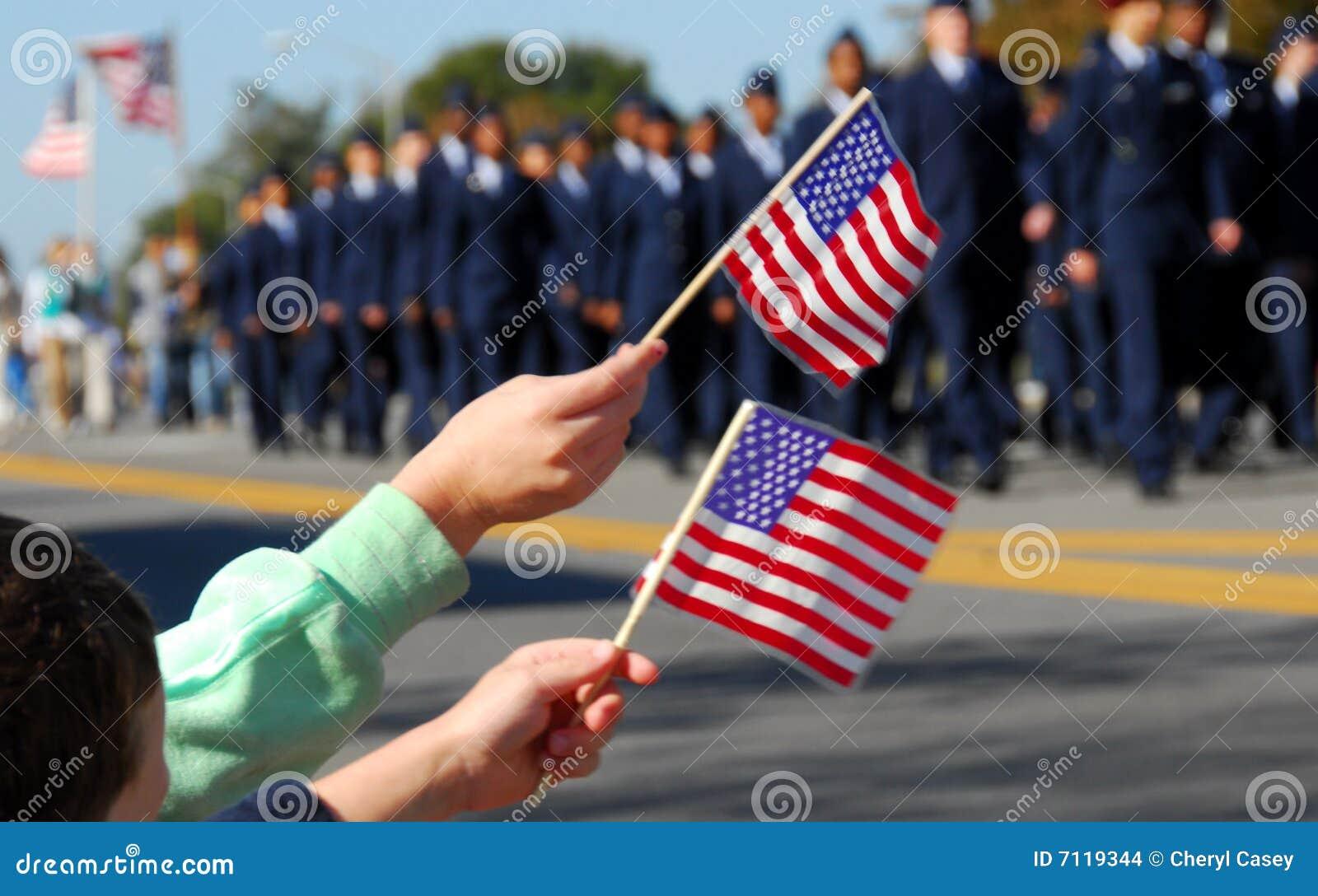 Desfile del veterano