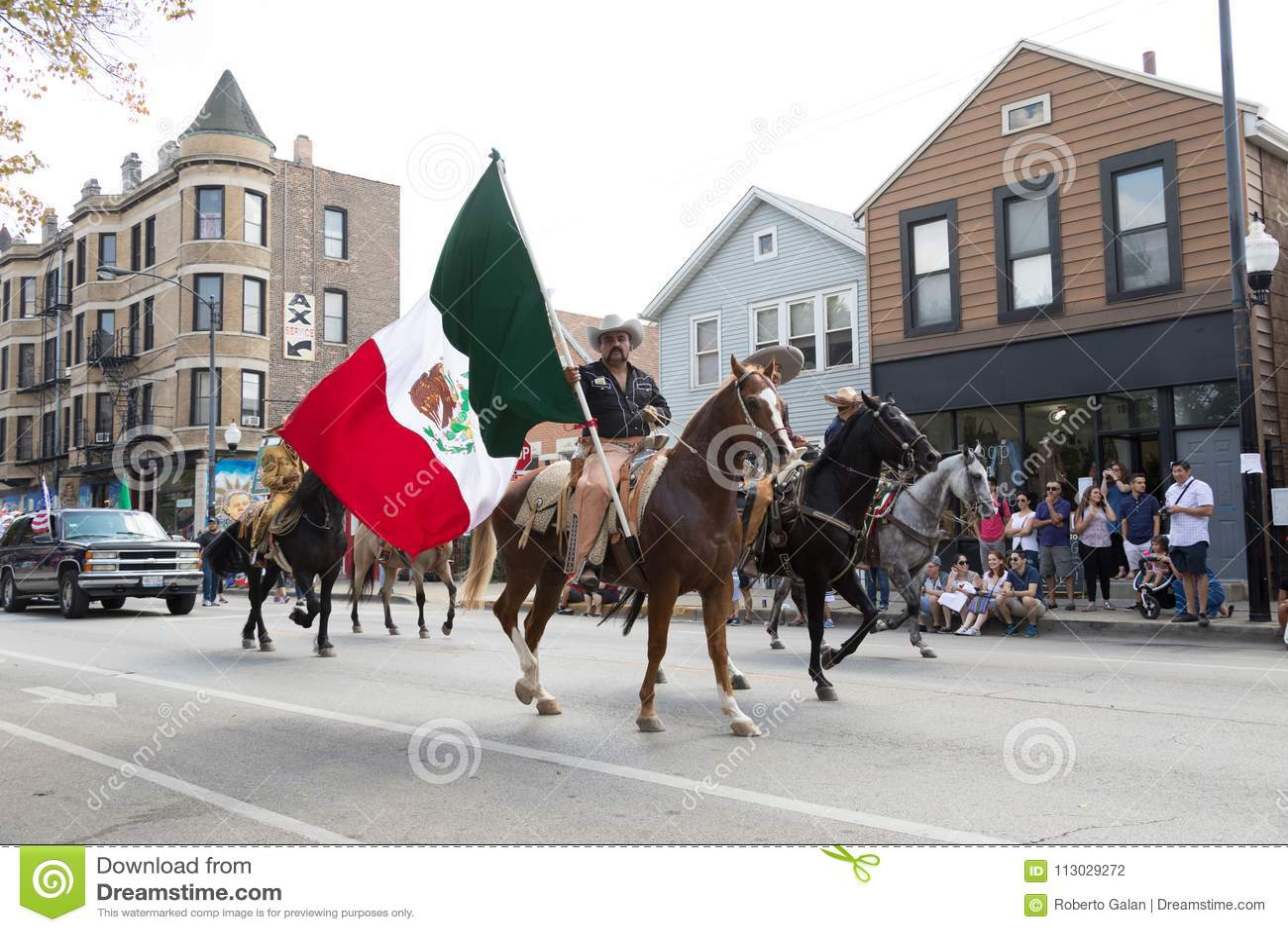 Desfile mexicano 2017 del Día de la Independencia de Pilsen