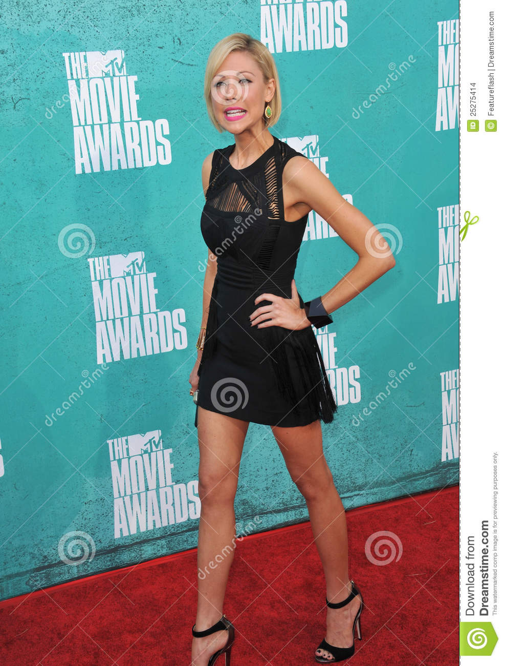 Desi Lydic at the 2012...