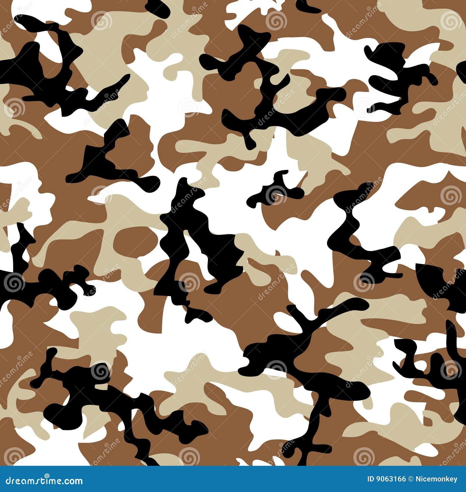 Desierto del camuflaje stock de ilustración. Ilustración de uniforme ...