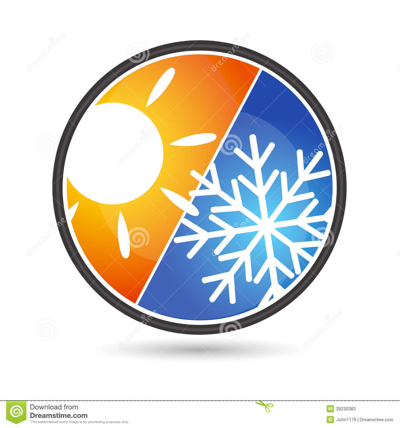 Design Air Conditioning Stock Vector Illustration Of