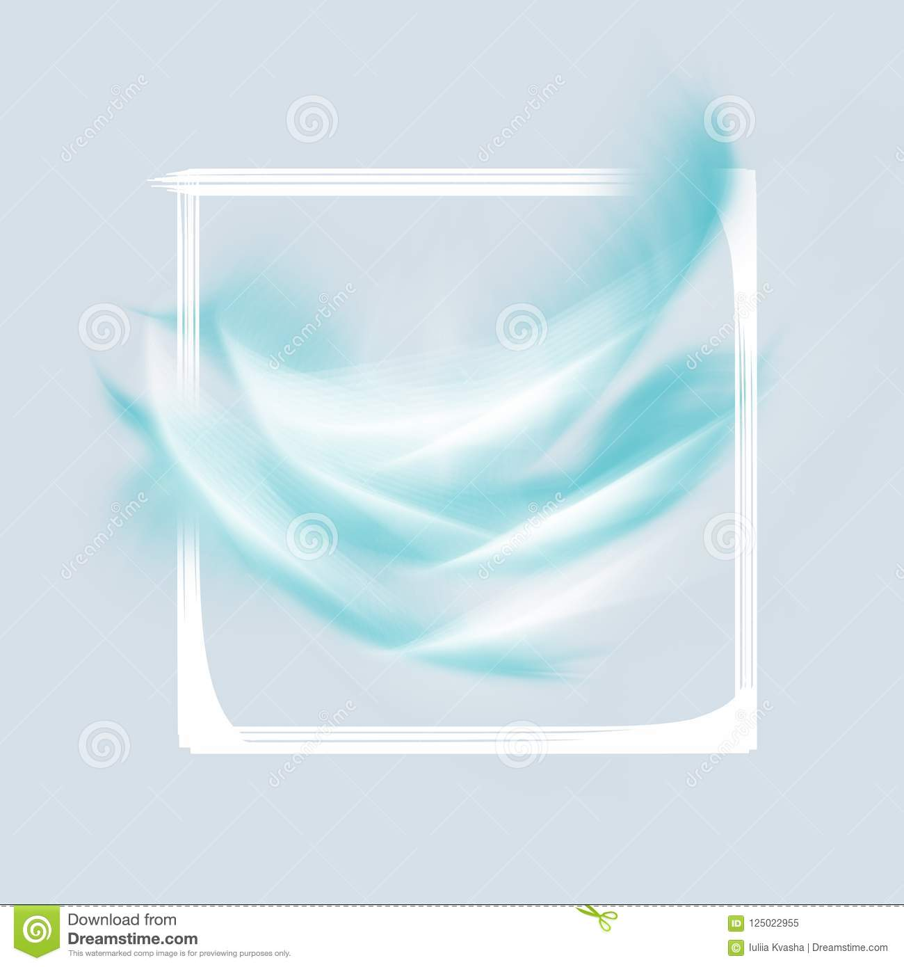 Design Banner Flyer Leaflet Cover Abstract Lines Of Paint And