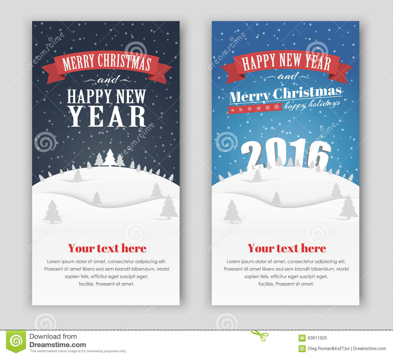 design banner merry christmas and happy new year stock vector design banner merry christmas and happy new year
