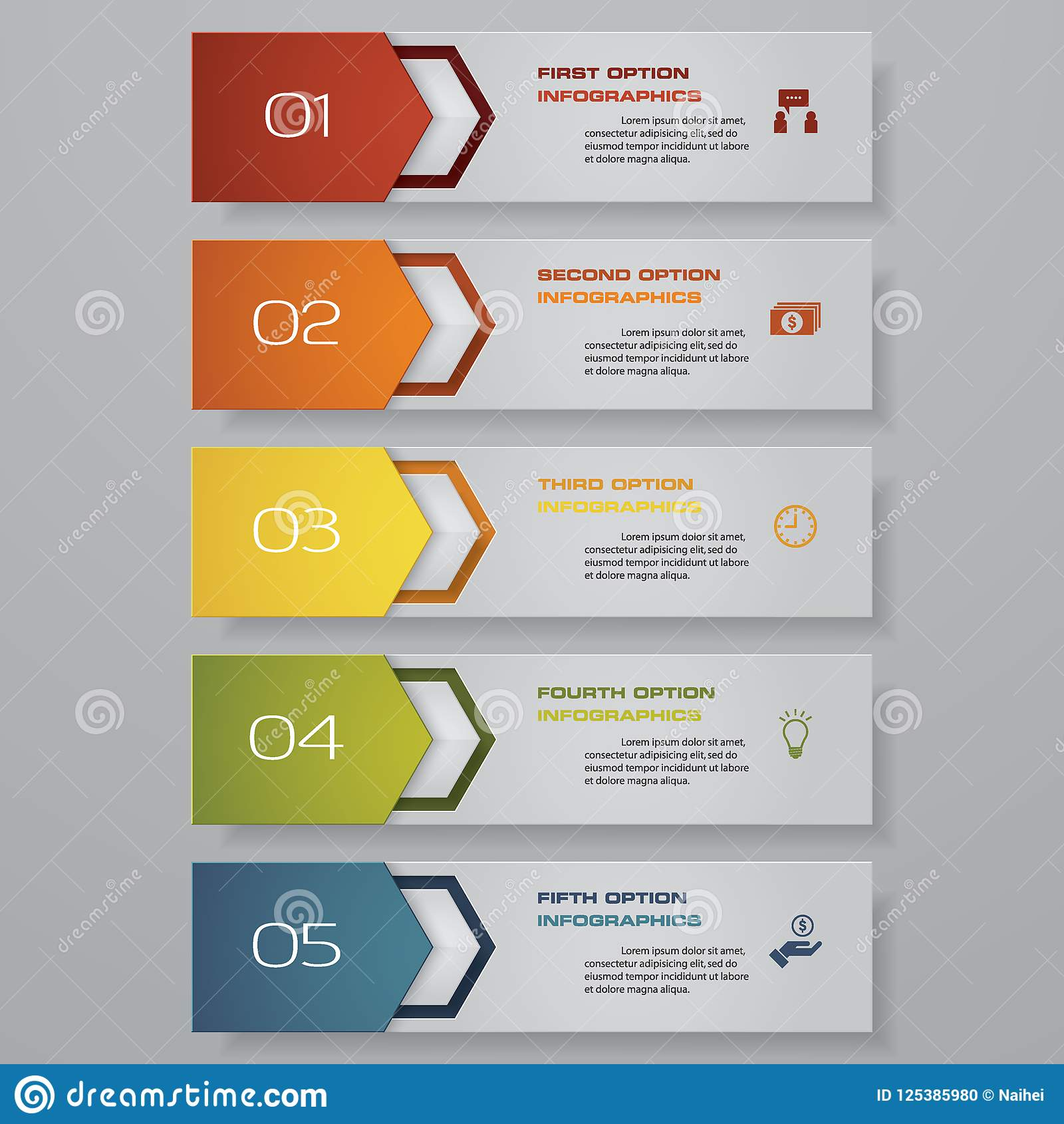 Design clean number banners templategraphic or website layout download design clean number banners templategraphic or website layout vector stock vector maxwellsz