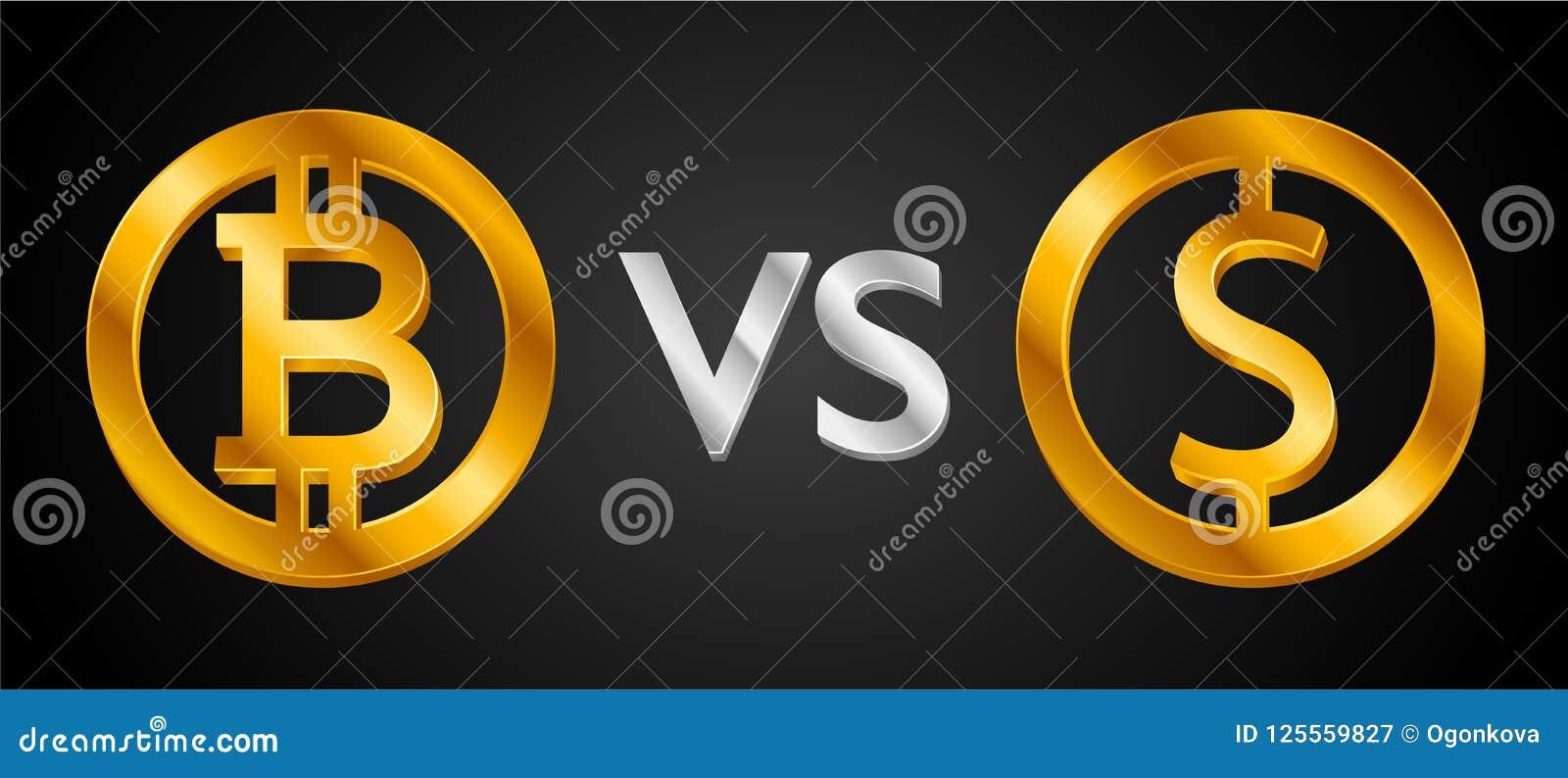 bitcoin vs a dollár
