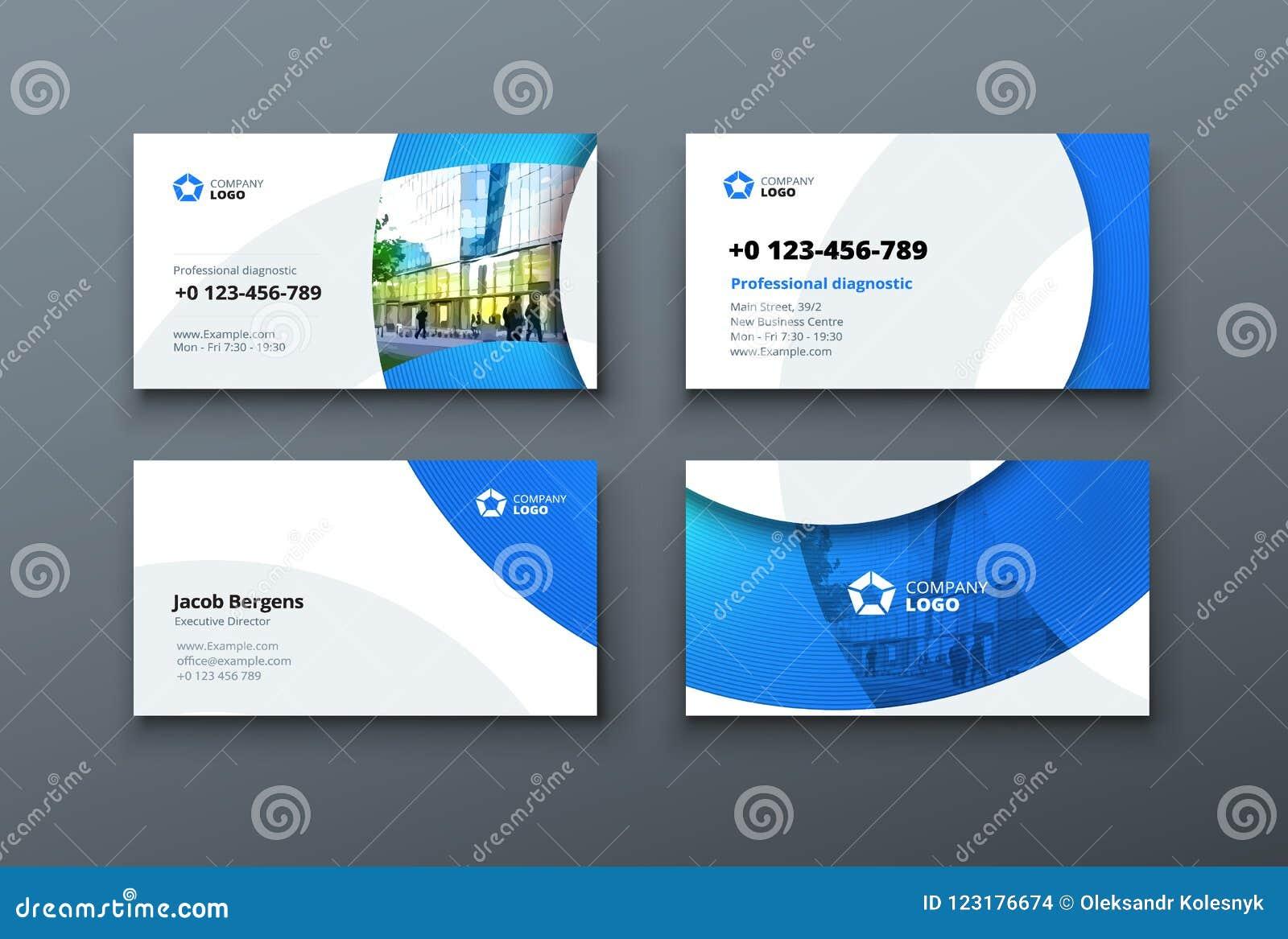 Design De Carte Daffaires Calibre Visite Professionnelle Pour Lusage Personnel Ou Dentreprise Vecteur