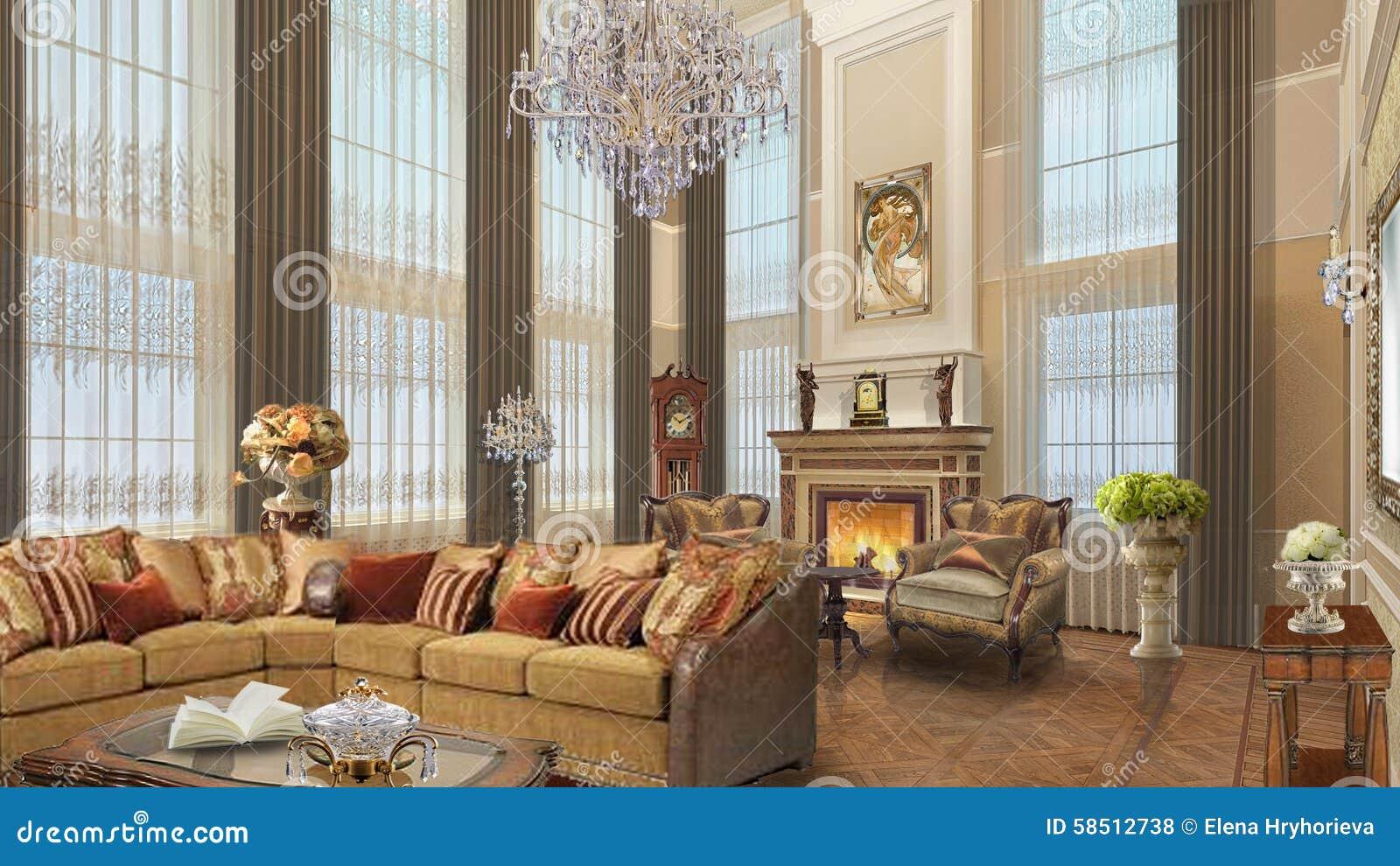Design de interiores casa projeto estilo cl ssico Estilo clasico diseno de interiores