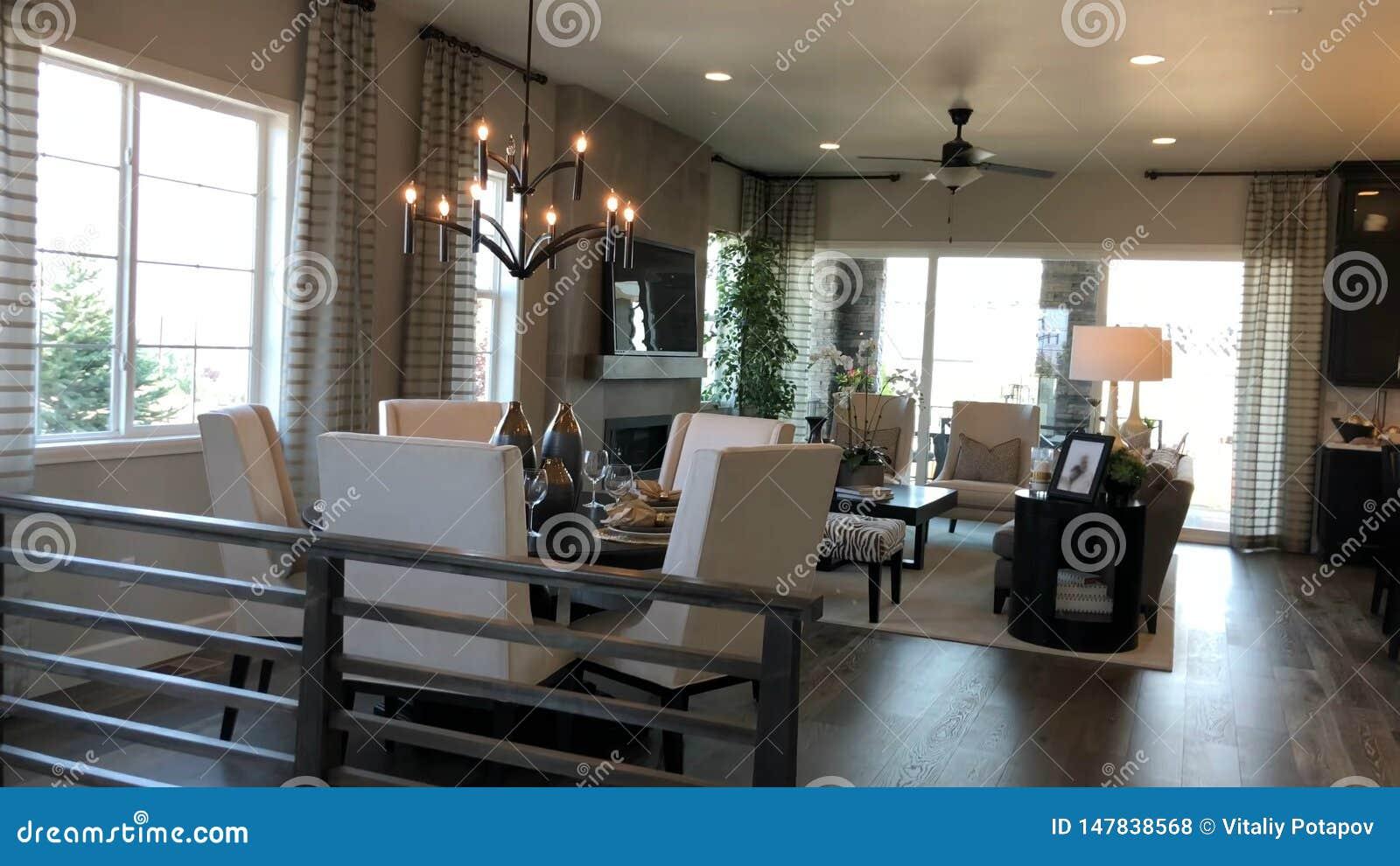 Design de interiores home moderno Sala de visitas