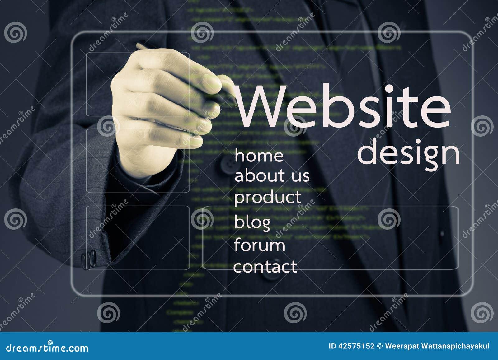 Design do site