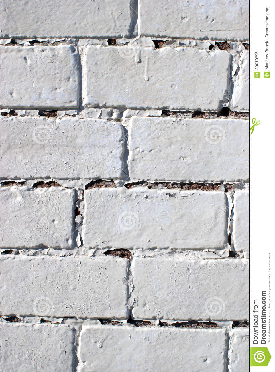 Design Element Painted Brick Wall Stock Photo Image 89019696