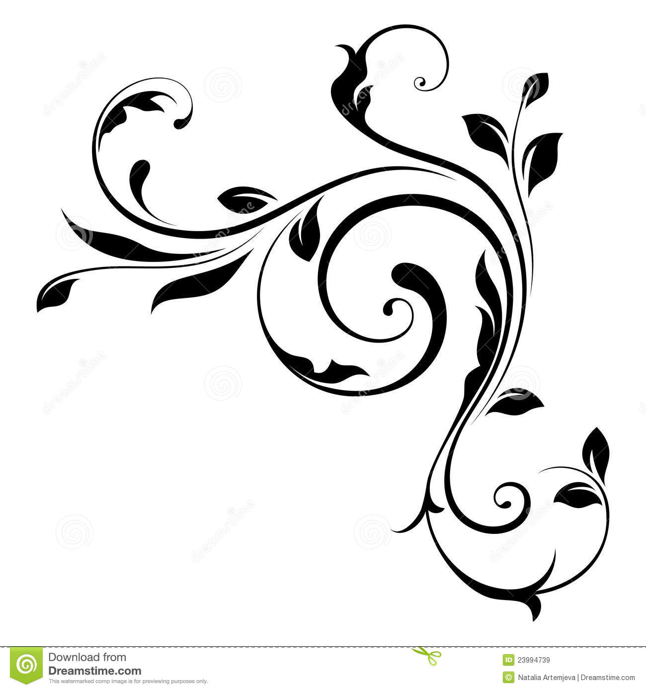 Black Swirls Designs Underfontanacountryinncom