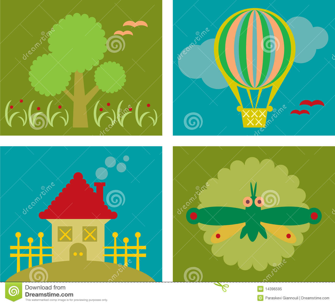 Design Elements For Kids Royalty Free Stock Photo Image