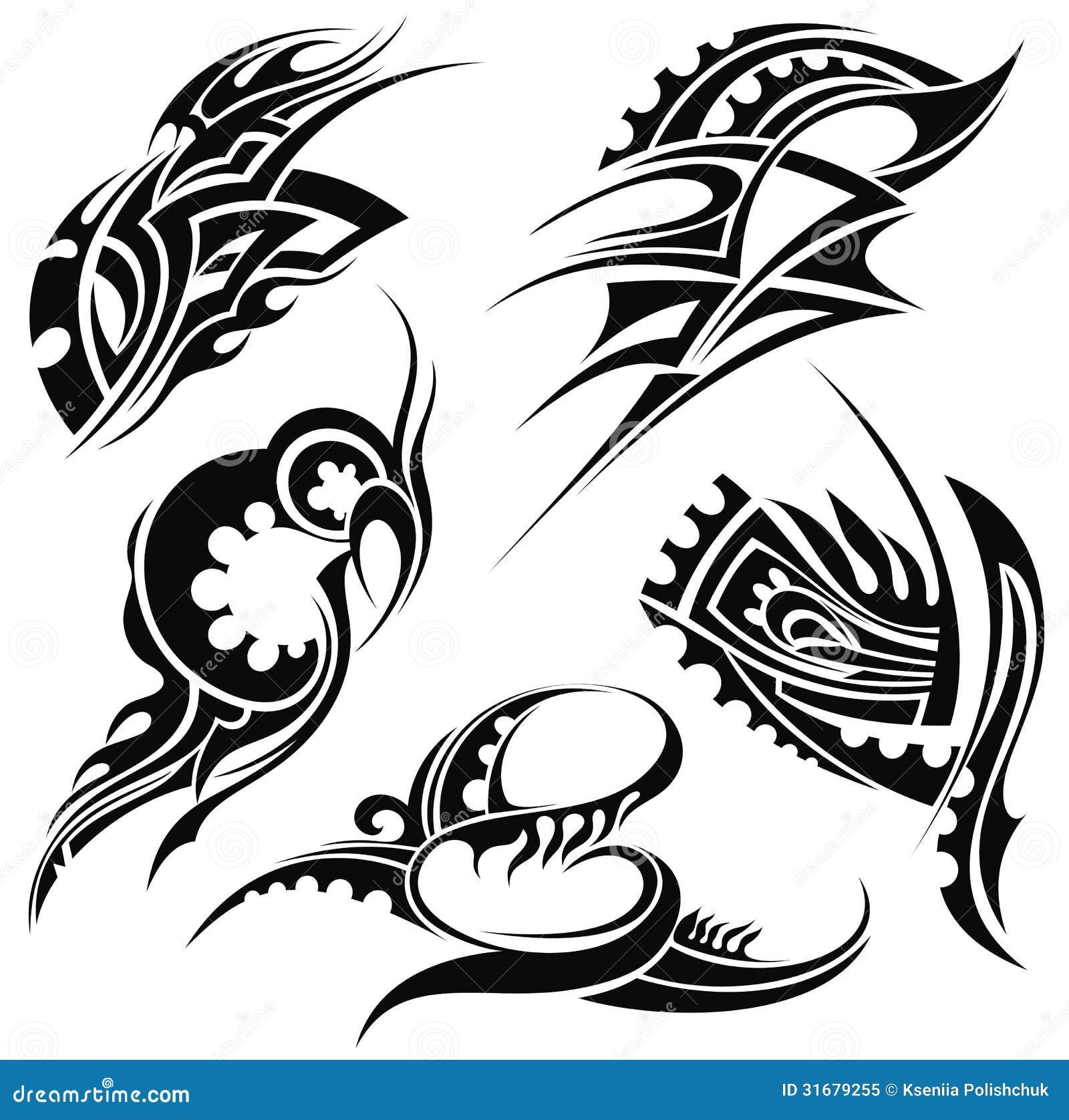 design elements tribal art stock vector illustration of artistic decor 31679255. Black Bedroom Furniture Sets. Home Design Ideas