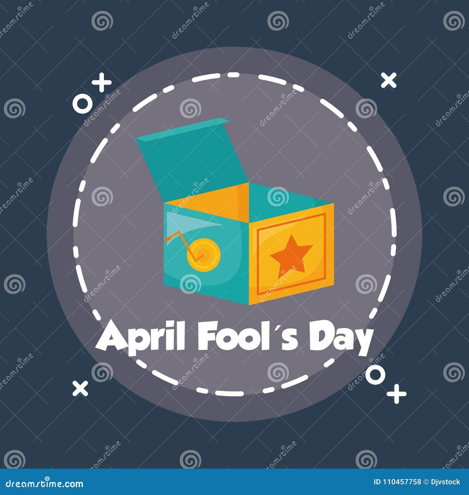Design för dag för April dumbommar