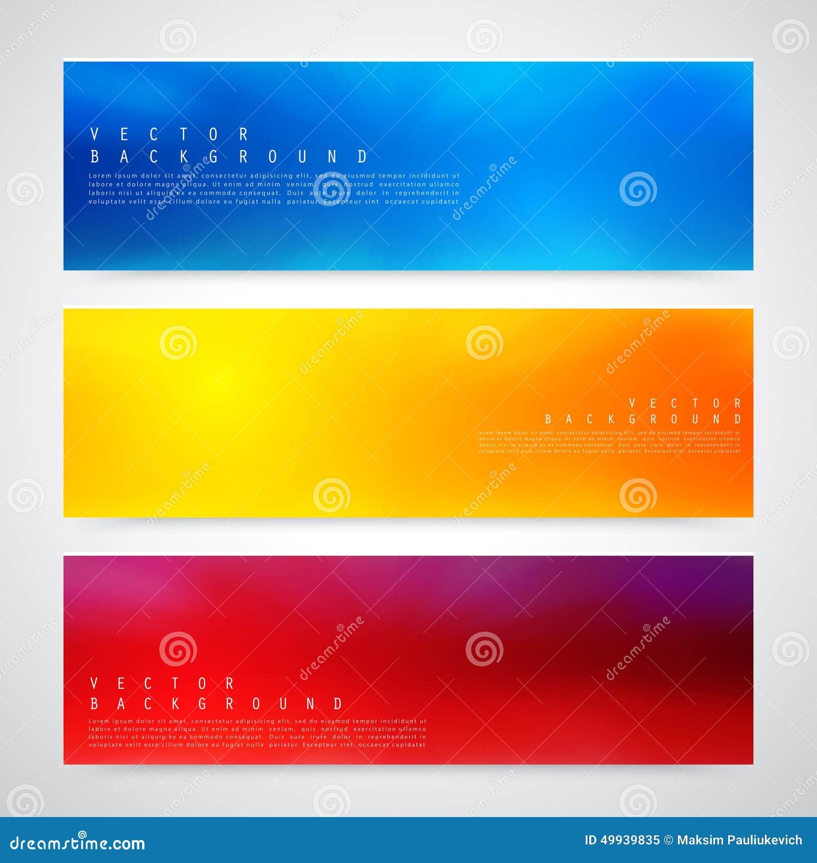 Design för reklambladmalltitelrad