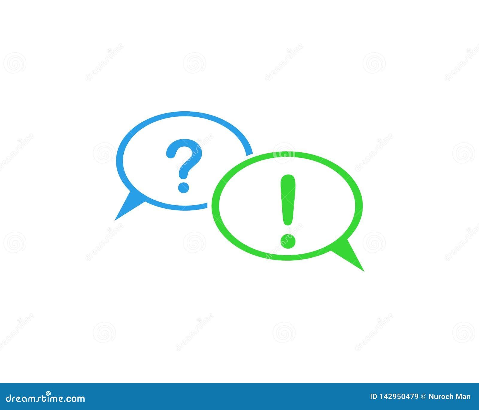 Design f?r symbol f?r anf?randebubblavektor