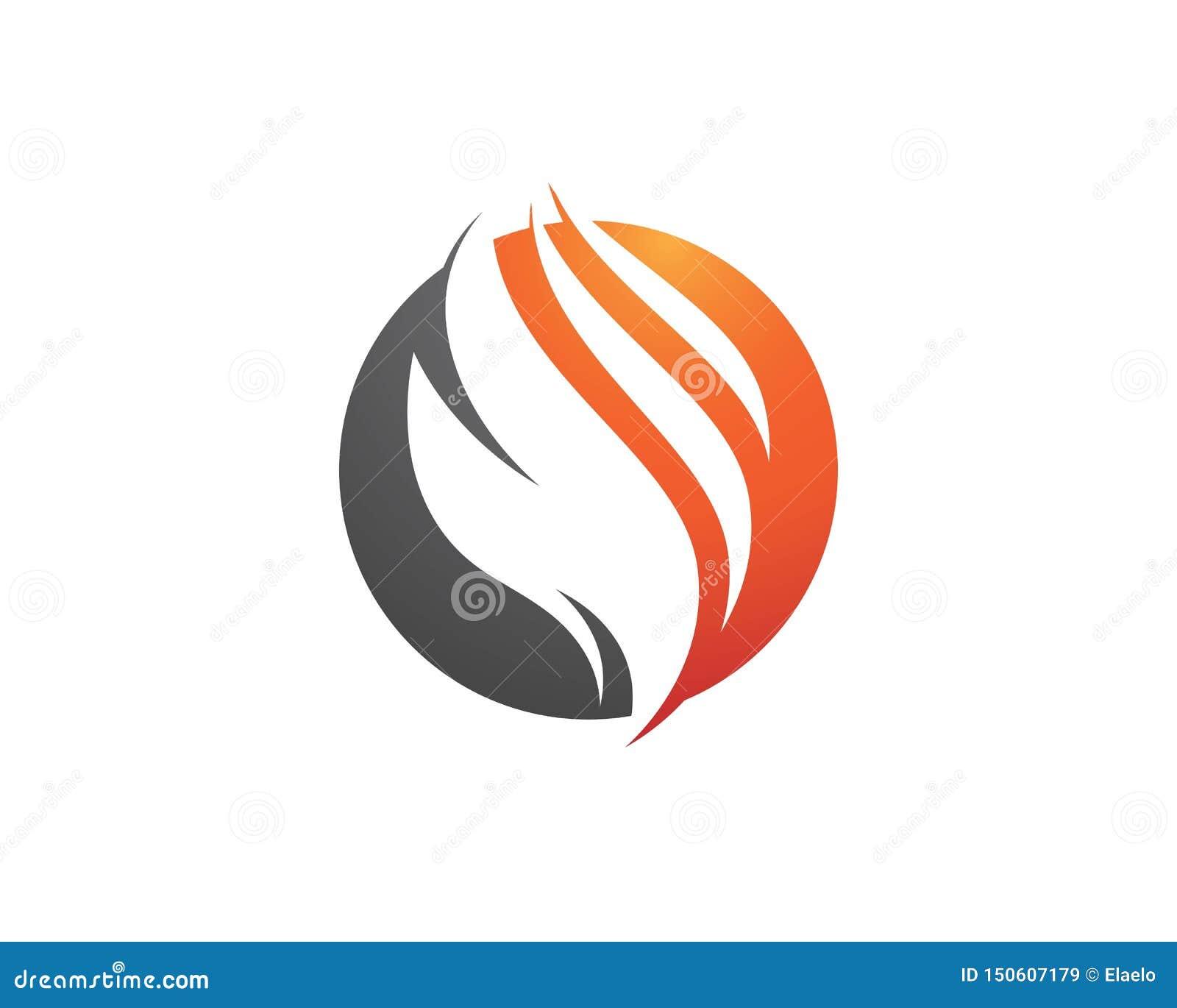 Design f?r vektor f?r flammasymbolsbrand