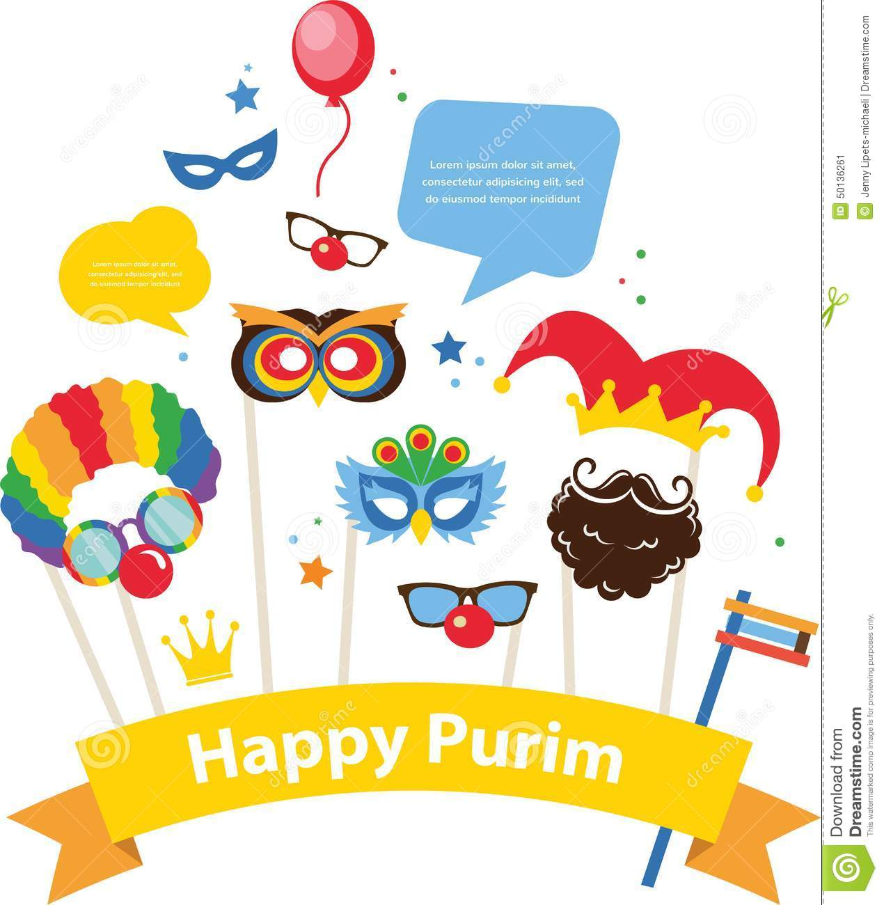 Clip Art Purim Clip Art purim stock illustrations 799 vectors design for jewish holiday with masks and image