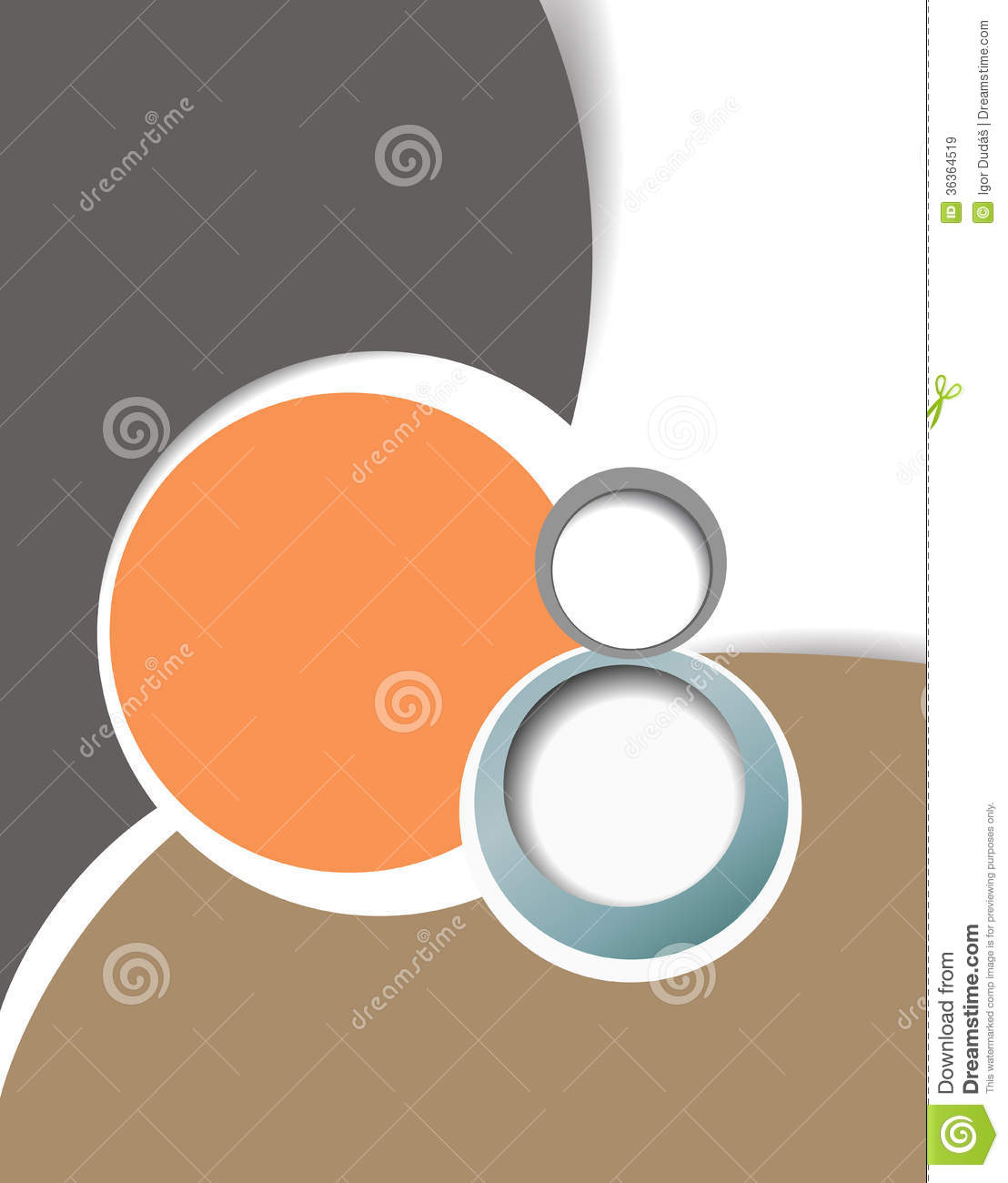 Design layout template stock illustration image of for Free design templates