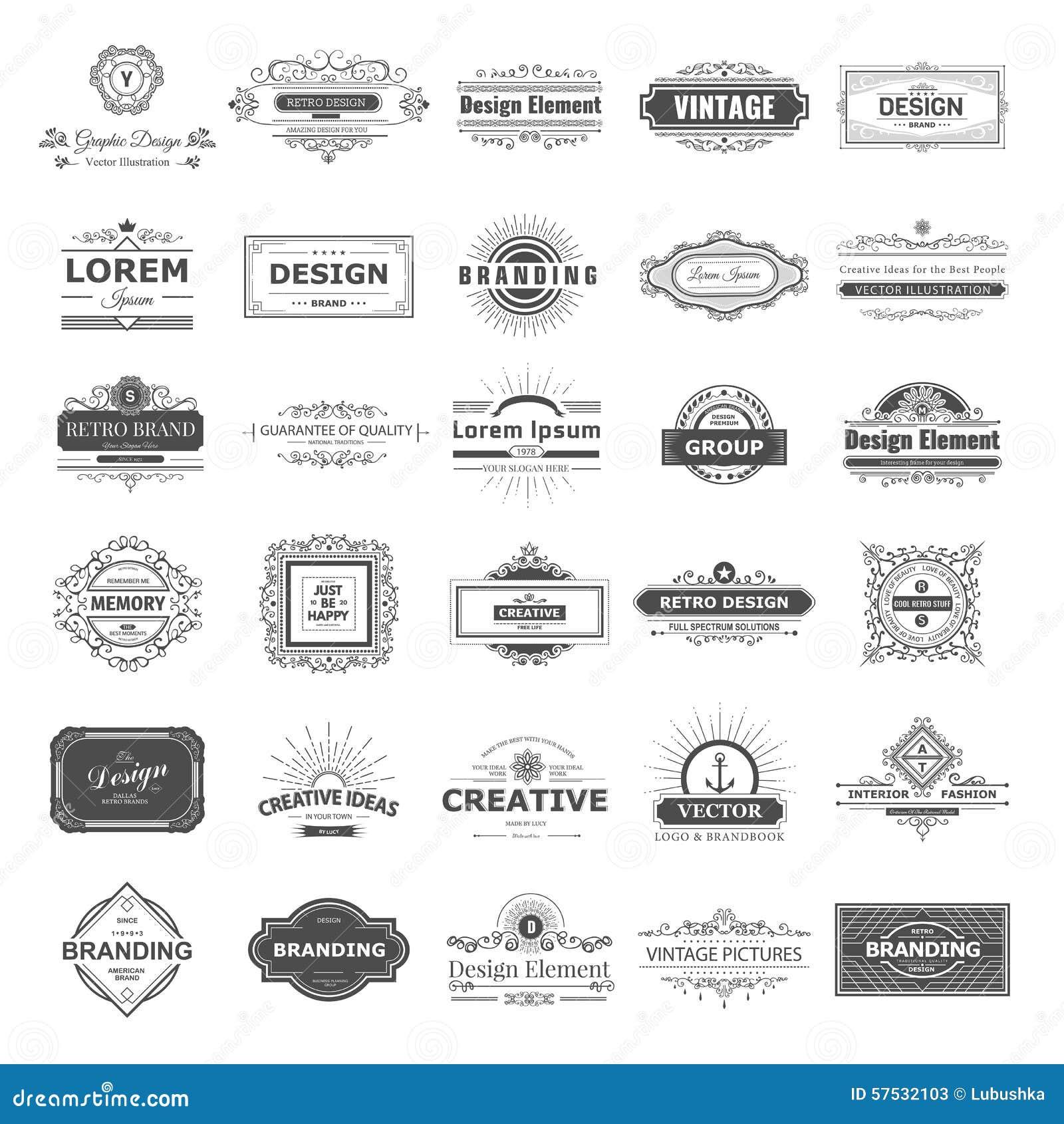 Design logo and monograms cartoon vector cartoondealer for Monogram homes floor plans