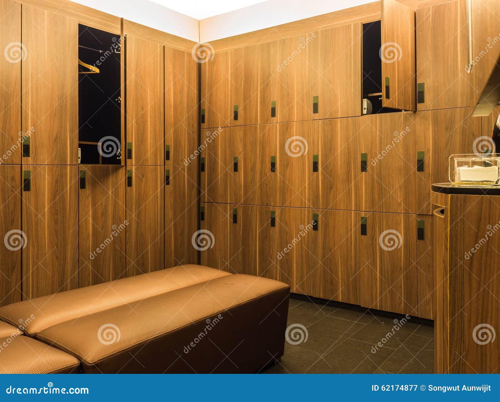 Design of modern wooden lockers stock photo image 62174877 for Designer lockers