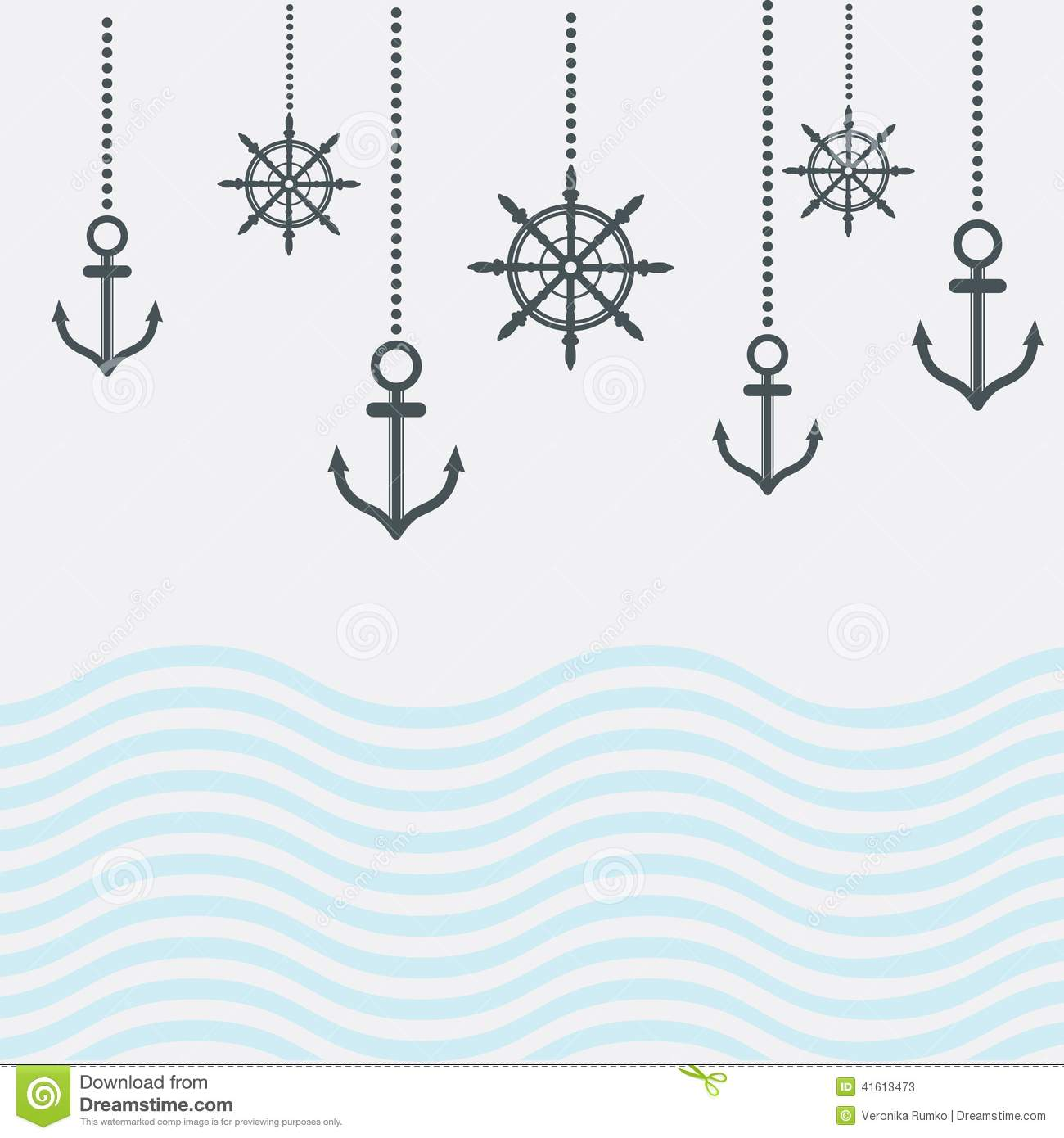 Design nautical template stock illustration illustration of blank design nautical template royalty free illustration toneelgroepblik Choice Image